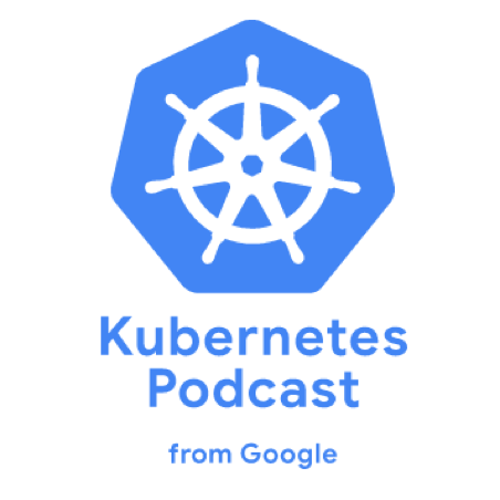 Kubernetes Podcast from Google logo